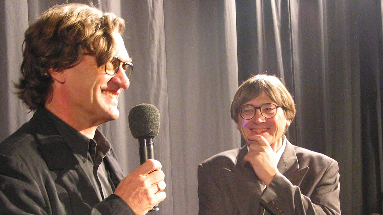 2002 - Wim Wenders and Heinz Badewitz