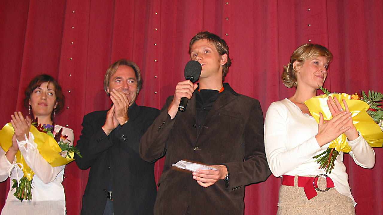 2004 - Premiere of BEFORE THE FALL – director Dennis Gansel and his team