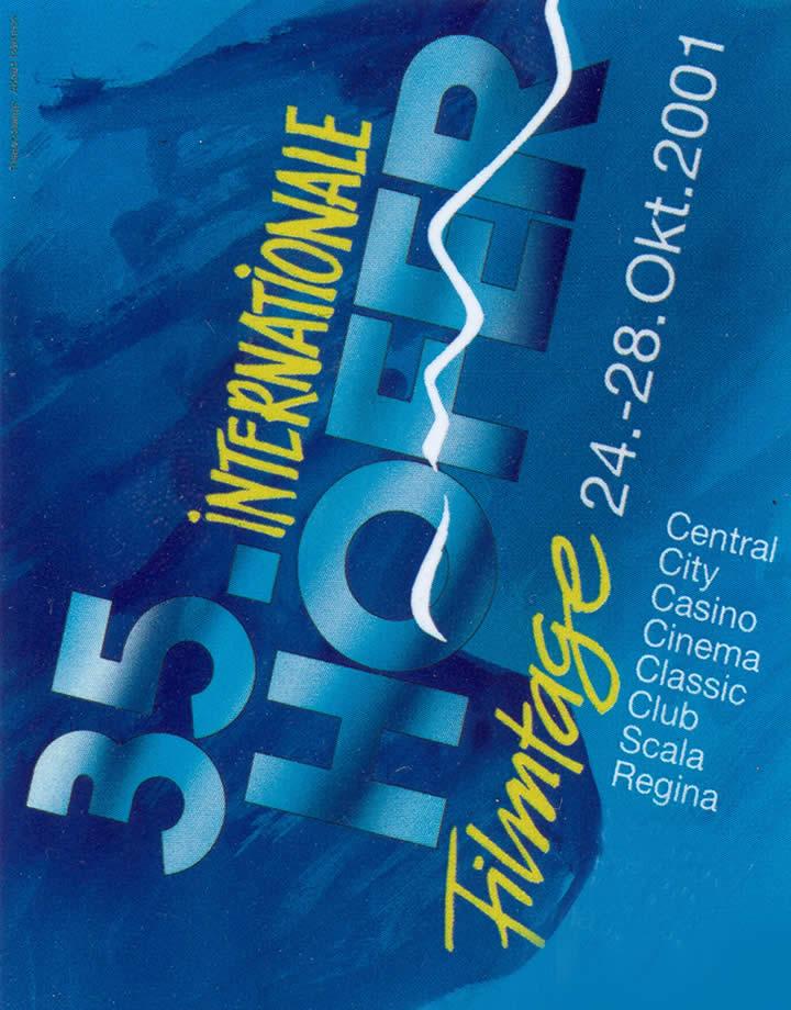 35. Internationale Hofer Filmtage 2001