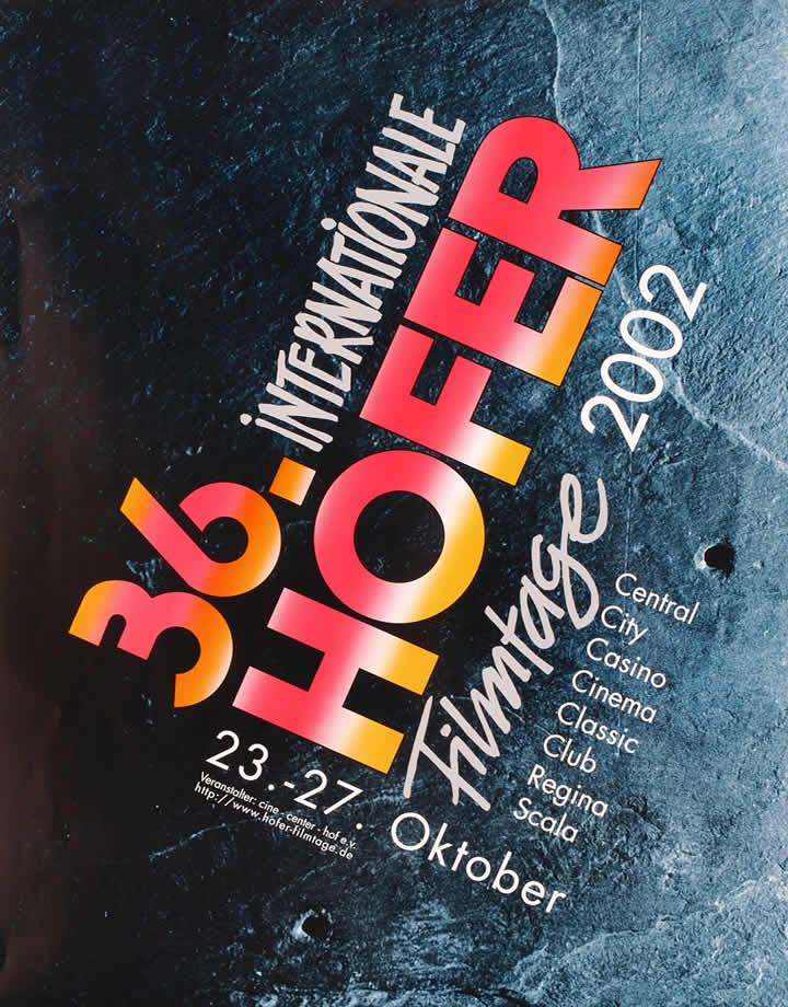 36. Internationale Hofer Filmtage 2002