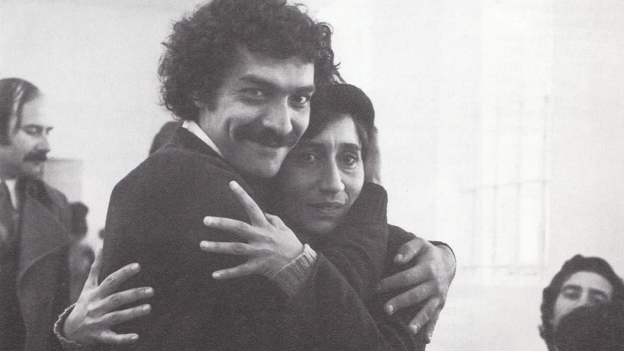 "1975 - Eduardo Duran and Zita Duarte in ES HERRSCHT RUHE IM LAND (""All quiet in the country"") by Peter Lilienthal"