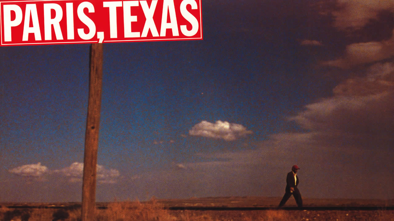 1984 - Wim Wenders comes to Hof to show PARIS, TEXAS.