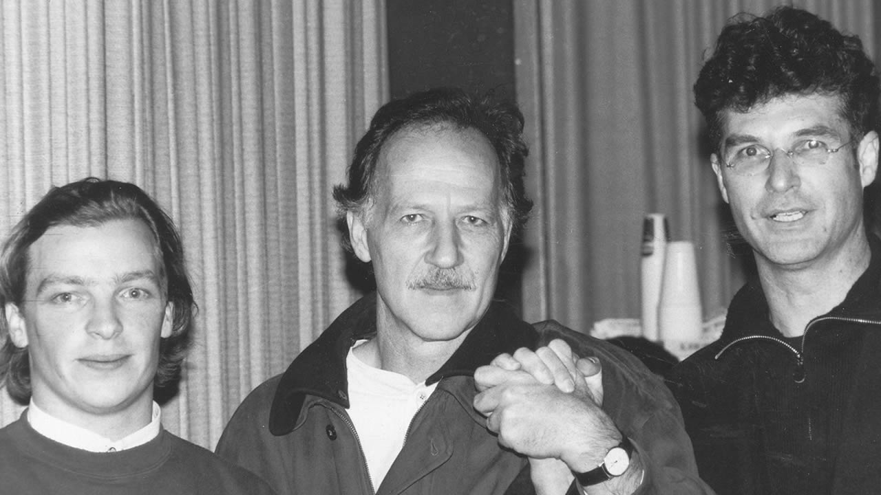 1993 - André Eisermann, Werner Herzog and Peter Sehr (left to right)
