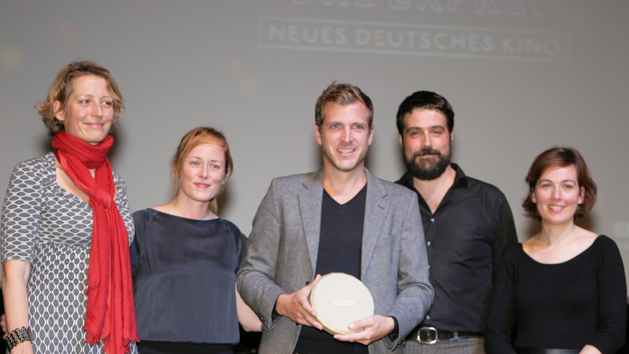 2013 – The German Cinema New Talent Award goes to Bastian Günther (script and directing) for HOUSTON.