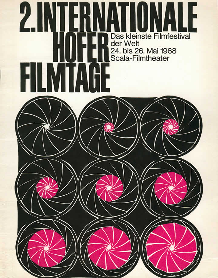 2nd Hof International Film Festival 1968