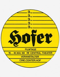 3. Internationale Hofer Filmtage 1969