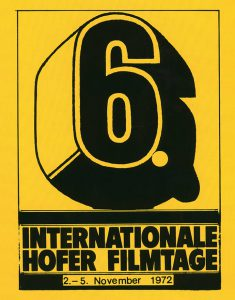 6. Internationale Hofer Filmtage 1972