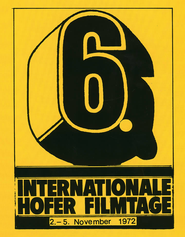 6th Hof International Film Festival 1972