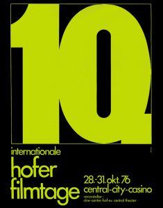 10th Hof International Film Festival 1976