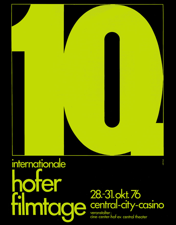10th Hof International Film Festival 1976