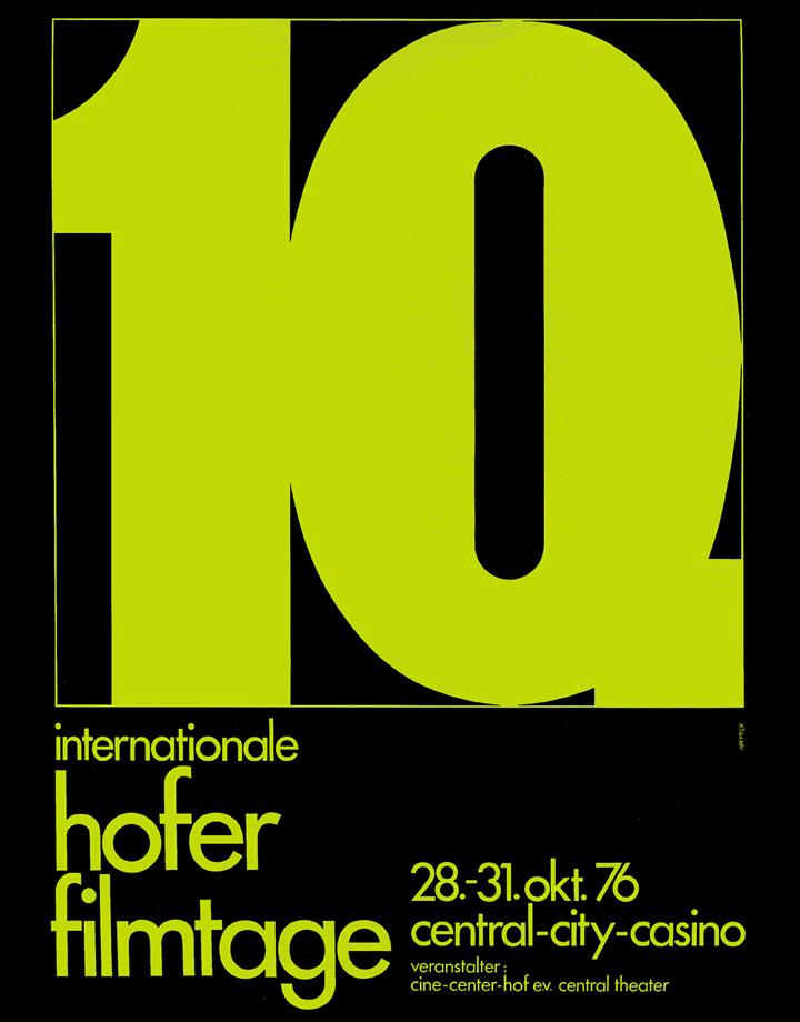 10. Internationale Hofer Filmtage 1976