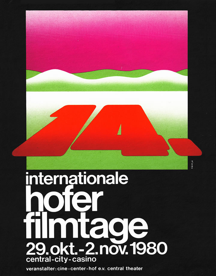 14th Hof International Film Festival 1980