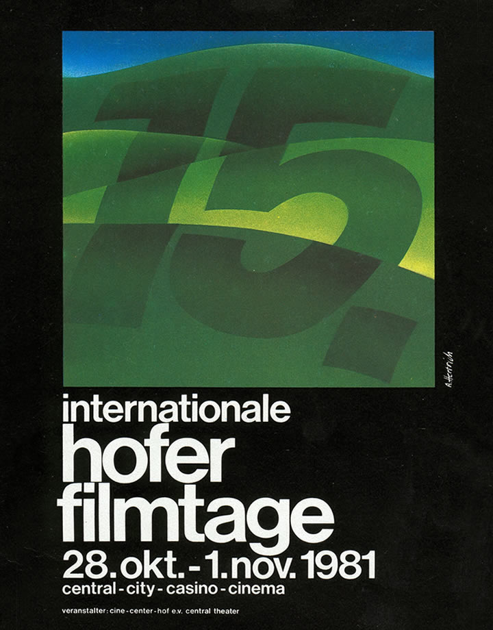15. Internationale Hofer Filmtage 1981