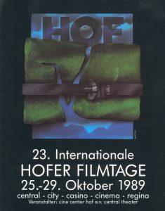 23. Internationale Hofer Filmtage 1989