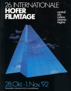 26. Internationale Hofer Filmtage 1992