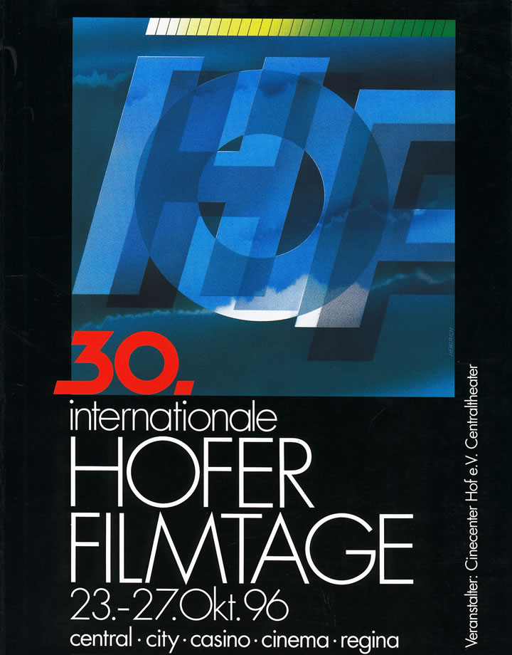 30. Internationale Hofer Filmtage 1996