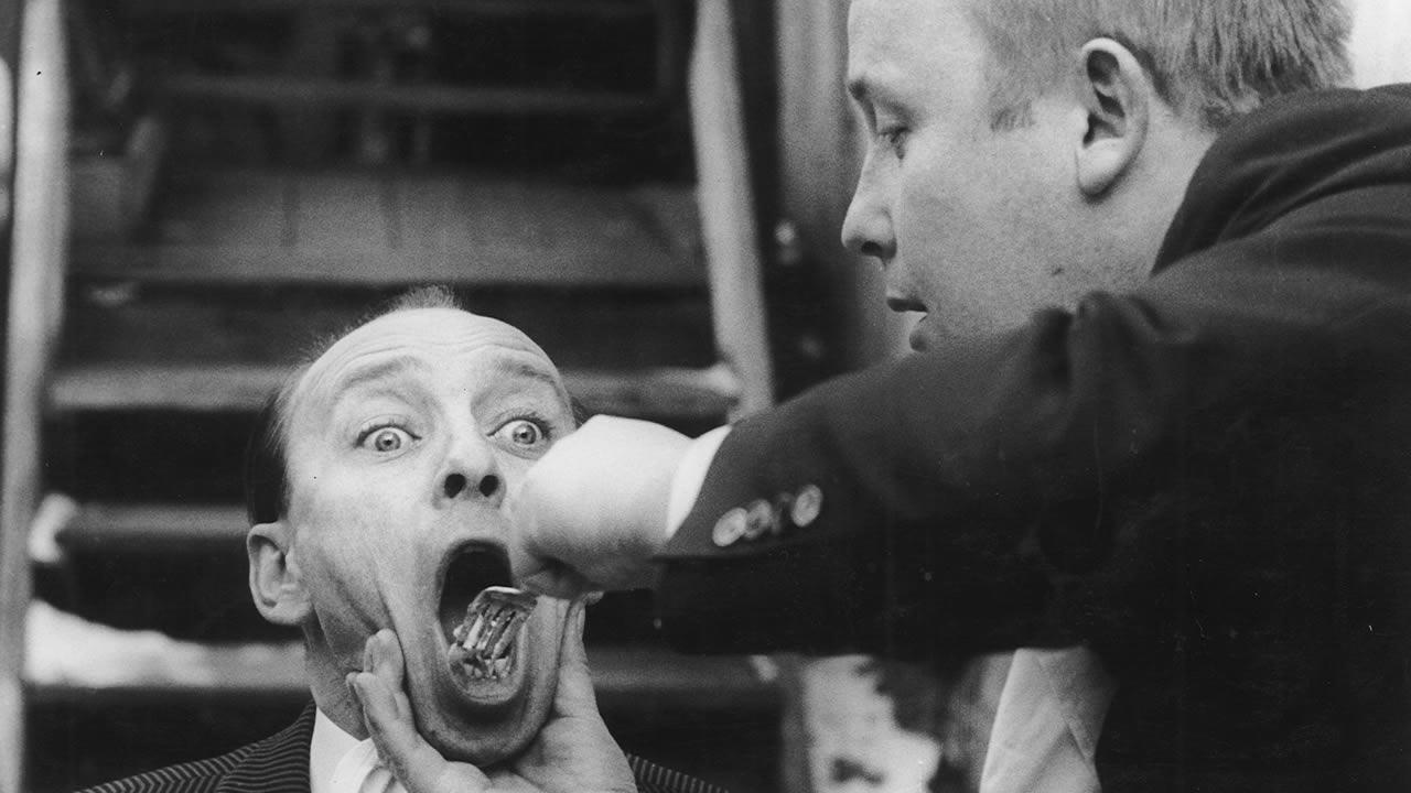 1967 - Lief beim Ersten Hofer Kurzfilmfestival: HÖFLICHKEITEN von Michael Fackelmann mit Erich Kleiber und Rainer Basedow.