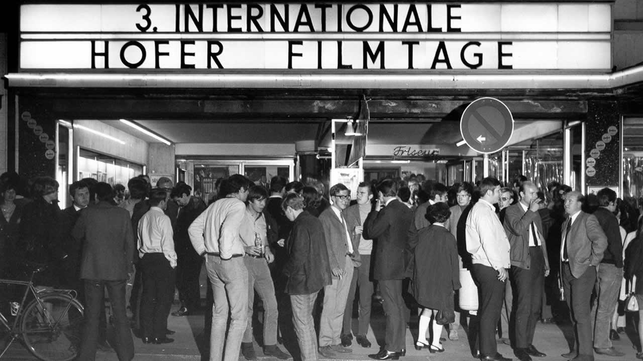 1969 - Die Internationalen Hofer Filmtage gingen erstmals im Central-Theater über die Bühne.