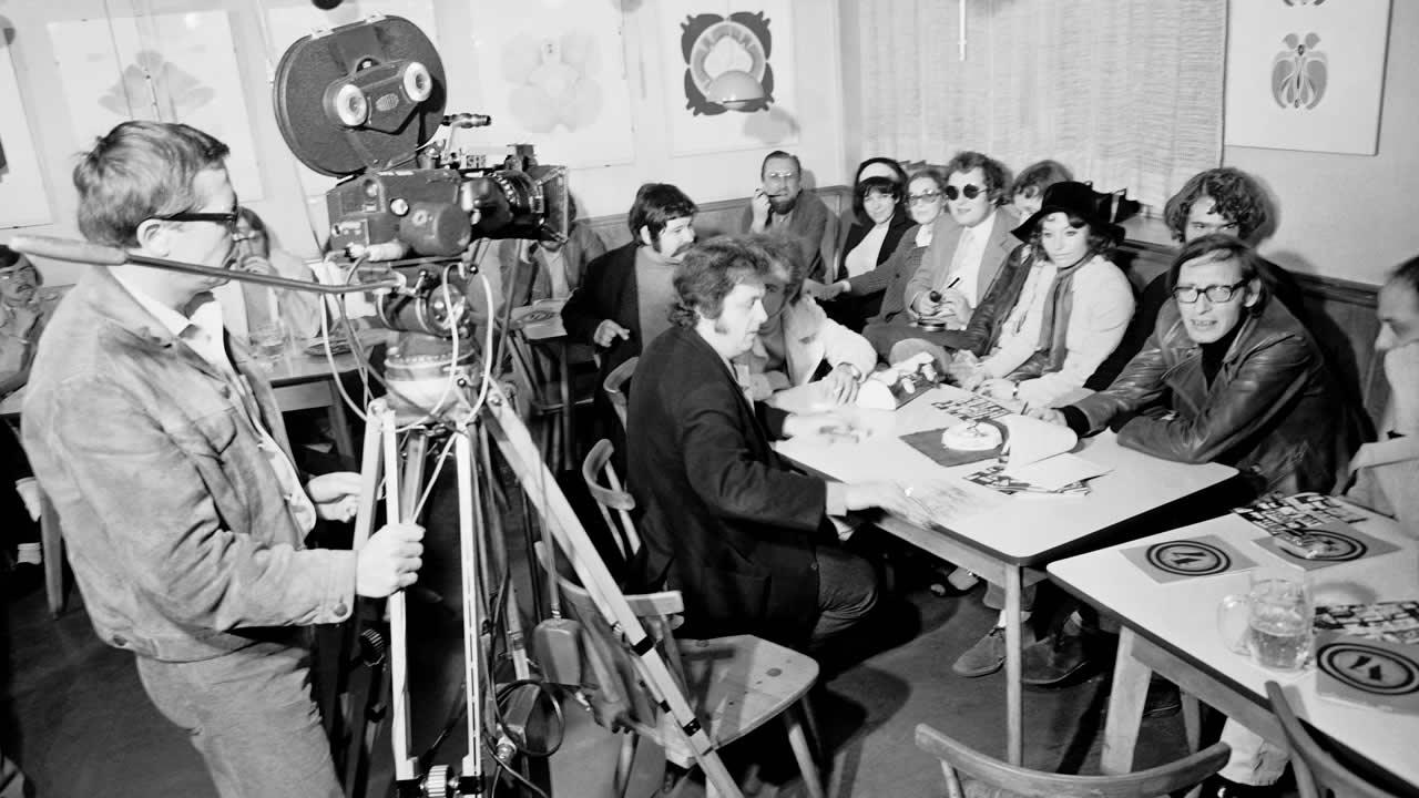 1970 - Diskussion der Süd- und NordCoop im Hofer »Bootshaus«