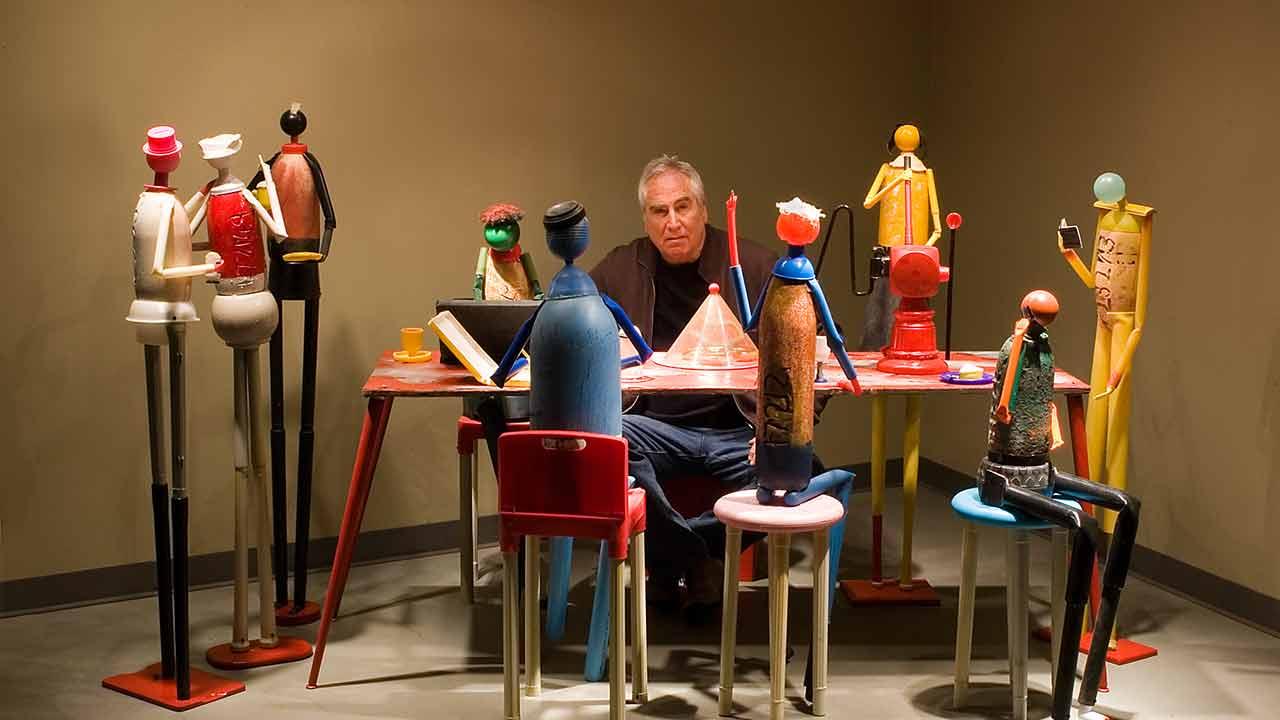 PLASTIC MAN: THE ARTFUL LIFE OF JERRY ROSS BARRISH