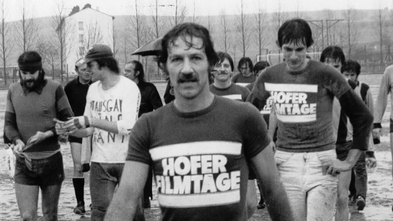 1977 - FC Hofer Filmtage win with a 8:1 victory: Werner Herzog scores five goals.