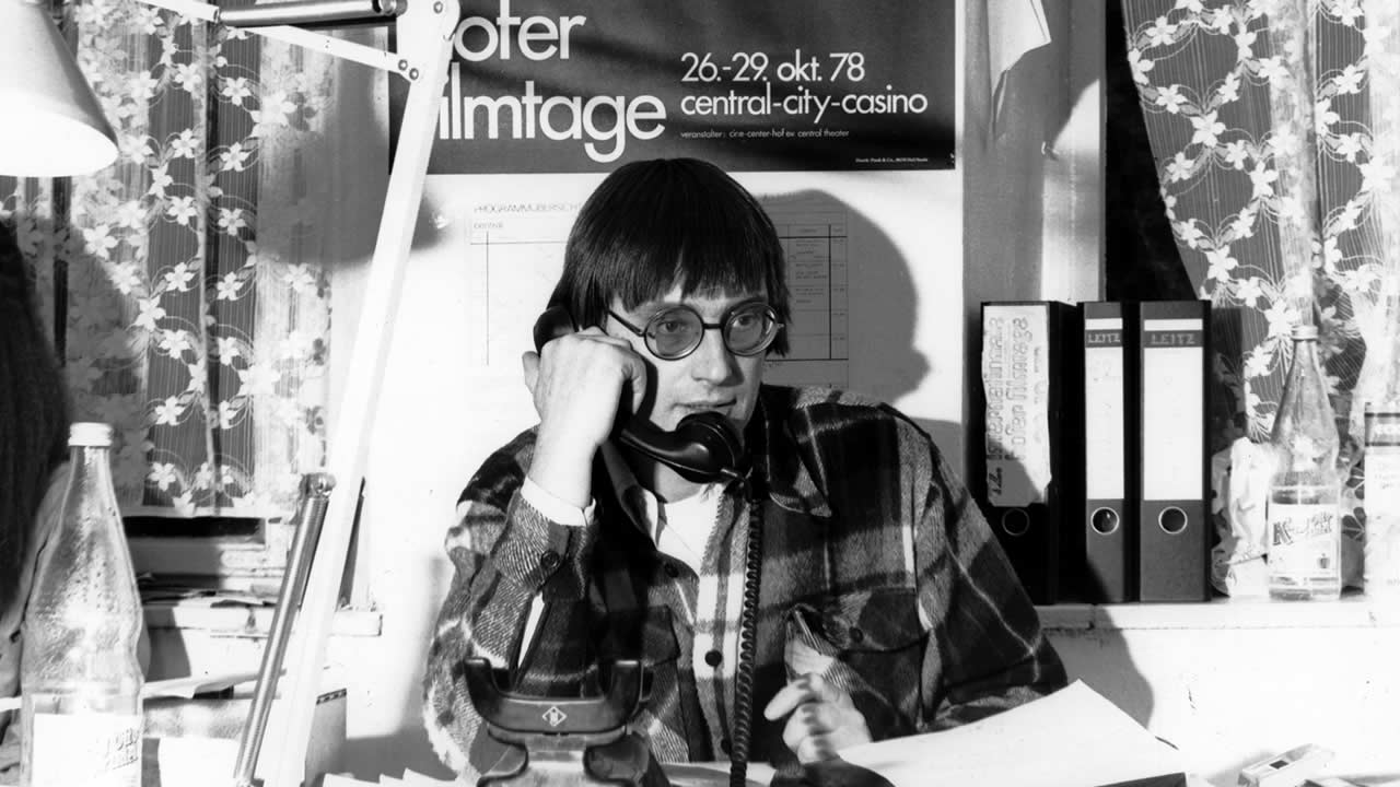1978 - Heinz Badewitz in the festival office