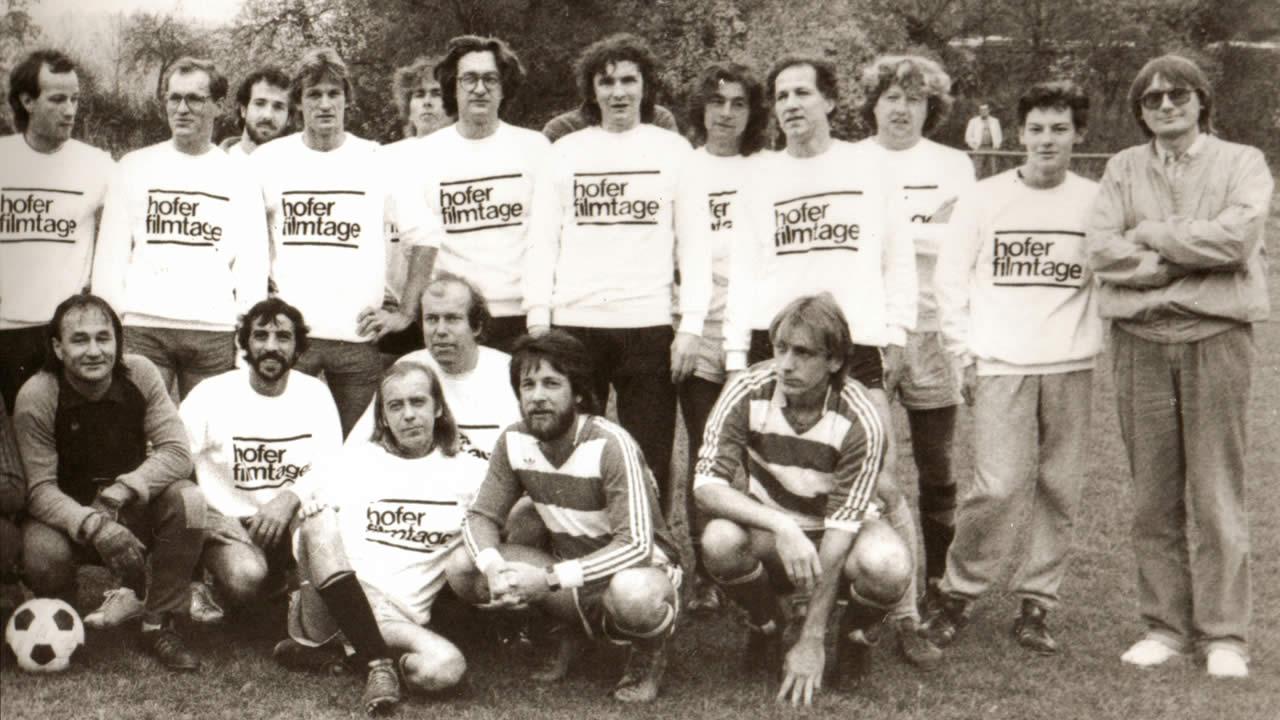 1982 - Das Filmtage-Fußball-Match endet mit einem 2:2-Unentschieden.