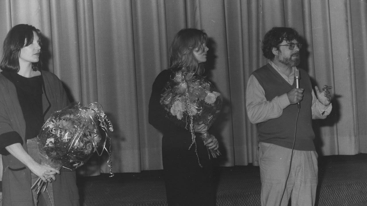 1983 - Peter Fleischmann stellt FREVEL vor.