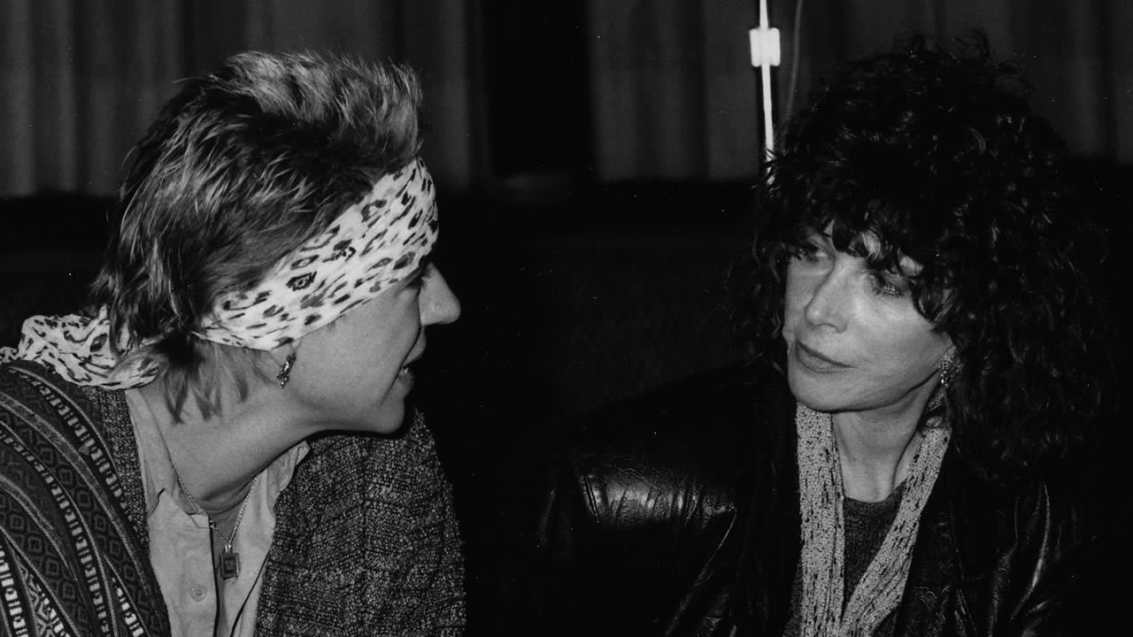 1986 - Starke Filmfrauen in Hof: Doris Dörrie und Lee Grant