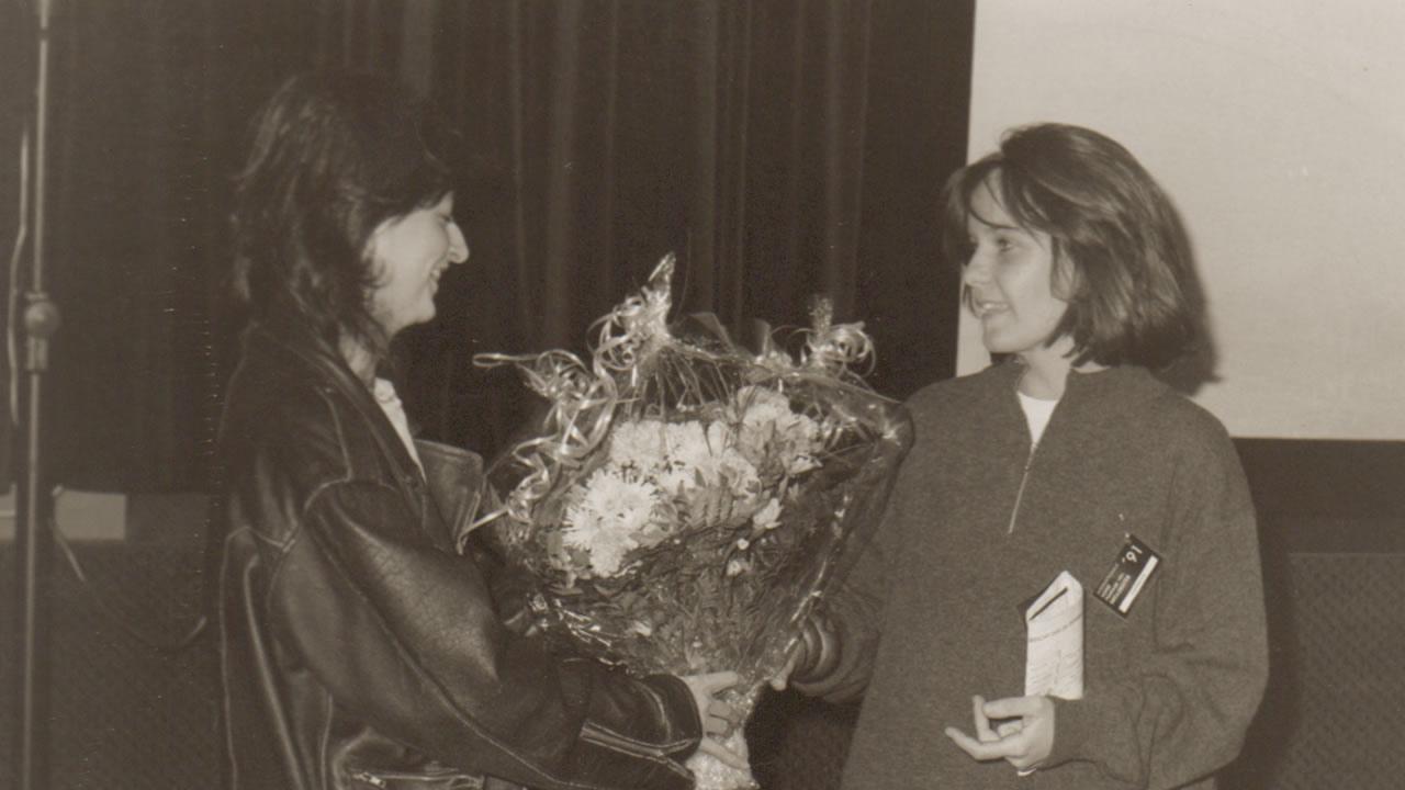 1991 - Der EASTMAN Förderpreis geht an Caroline Link für SOMMERTAGE.