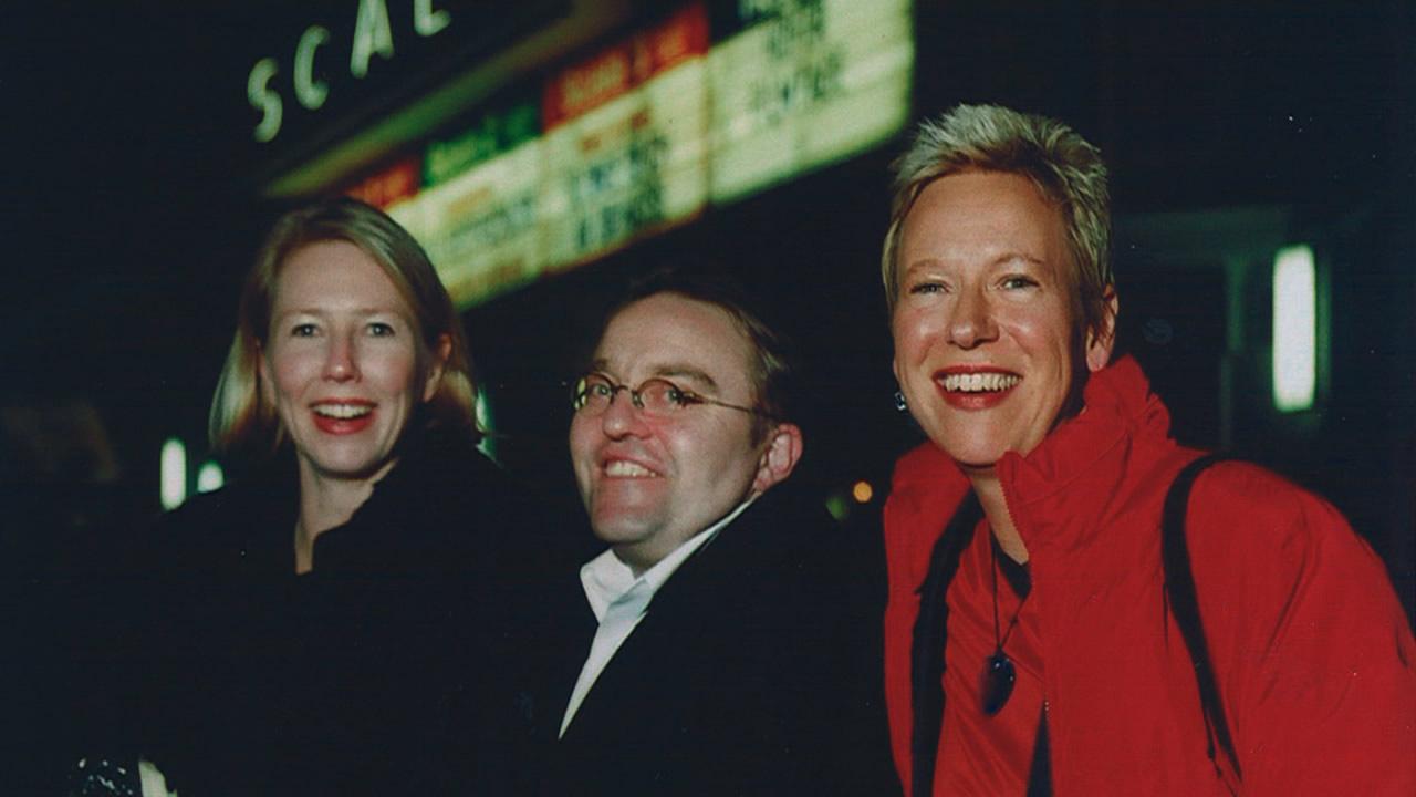 1999 - ERLEUCHTUNG GARANTIERT: Doris Dörrie mit Petra Zieser und Gustav Peter Wöhler