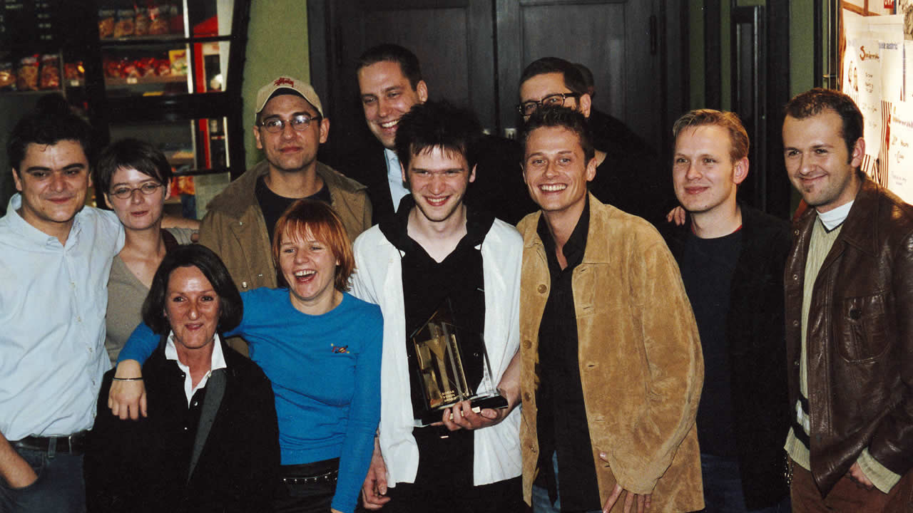 2001 – The Eastman Award goes to Sven Taddicken and his team for GETTING MY BROTHER LAID.