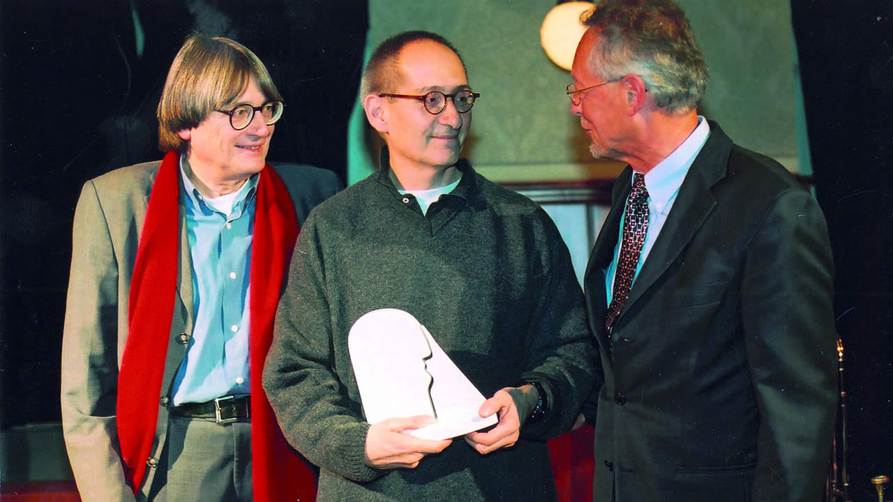2003 - Dominik Graf receives the Award of the City of Hof.