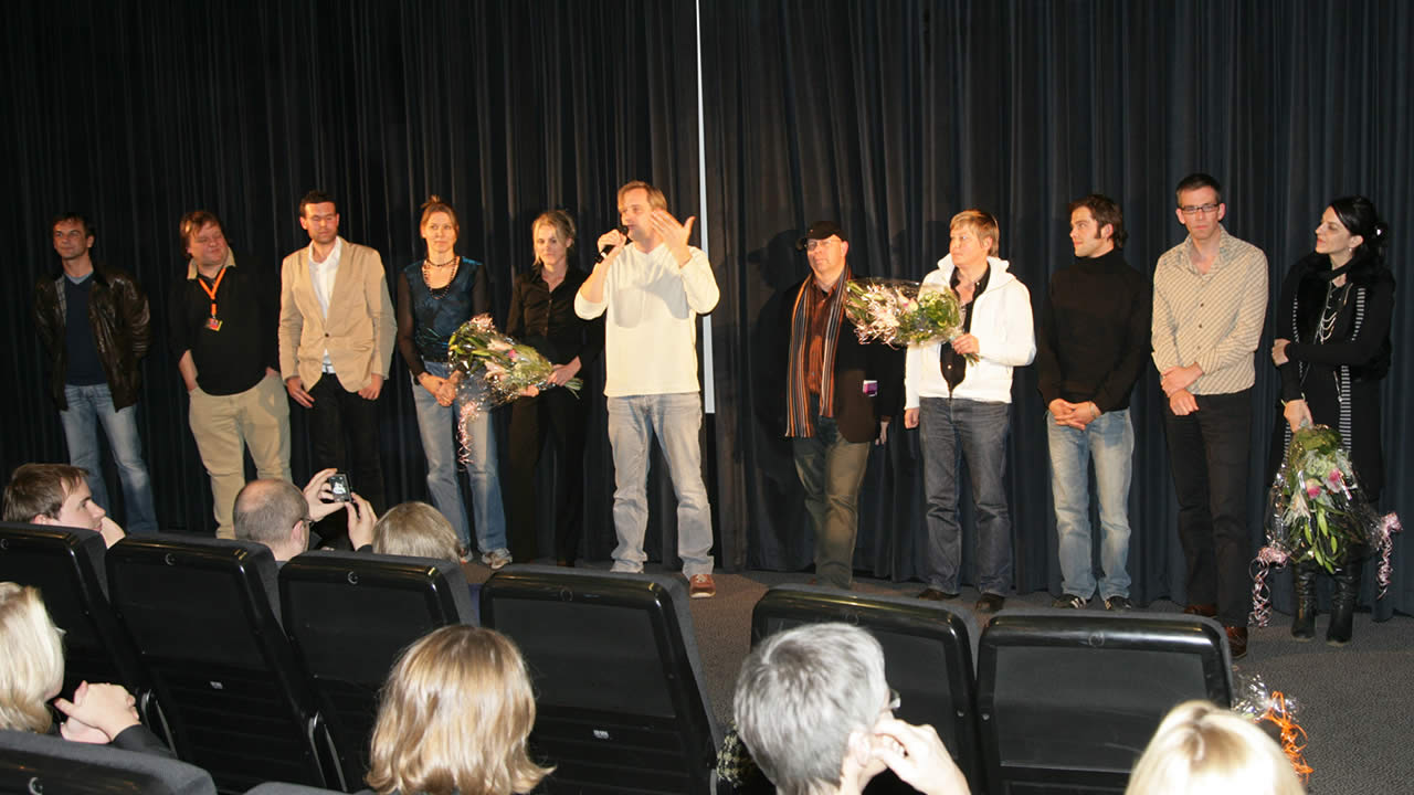 2007 - Premiere in Hof: Chris Kraus and the team of BELLA BLOCK – TRIP TO CHINA