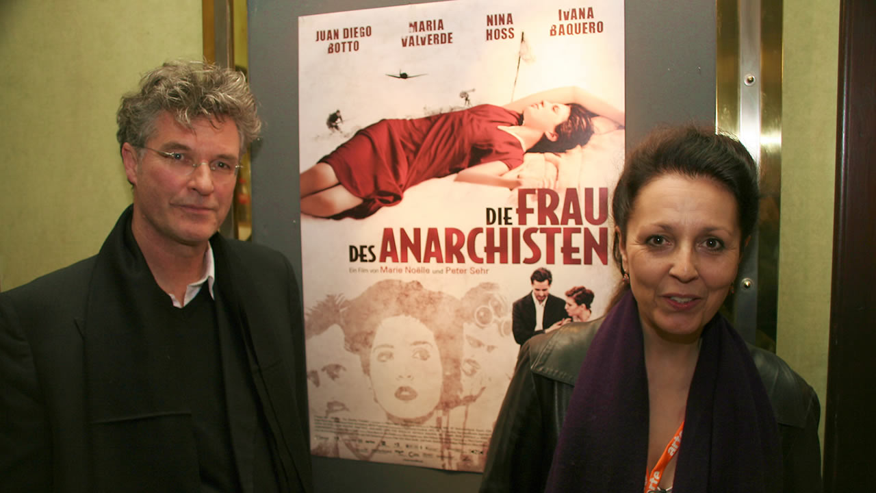 2008 - Marie Noële and Peter Sehr present THE ANARCHIST'S WIFE.