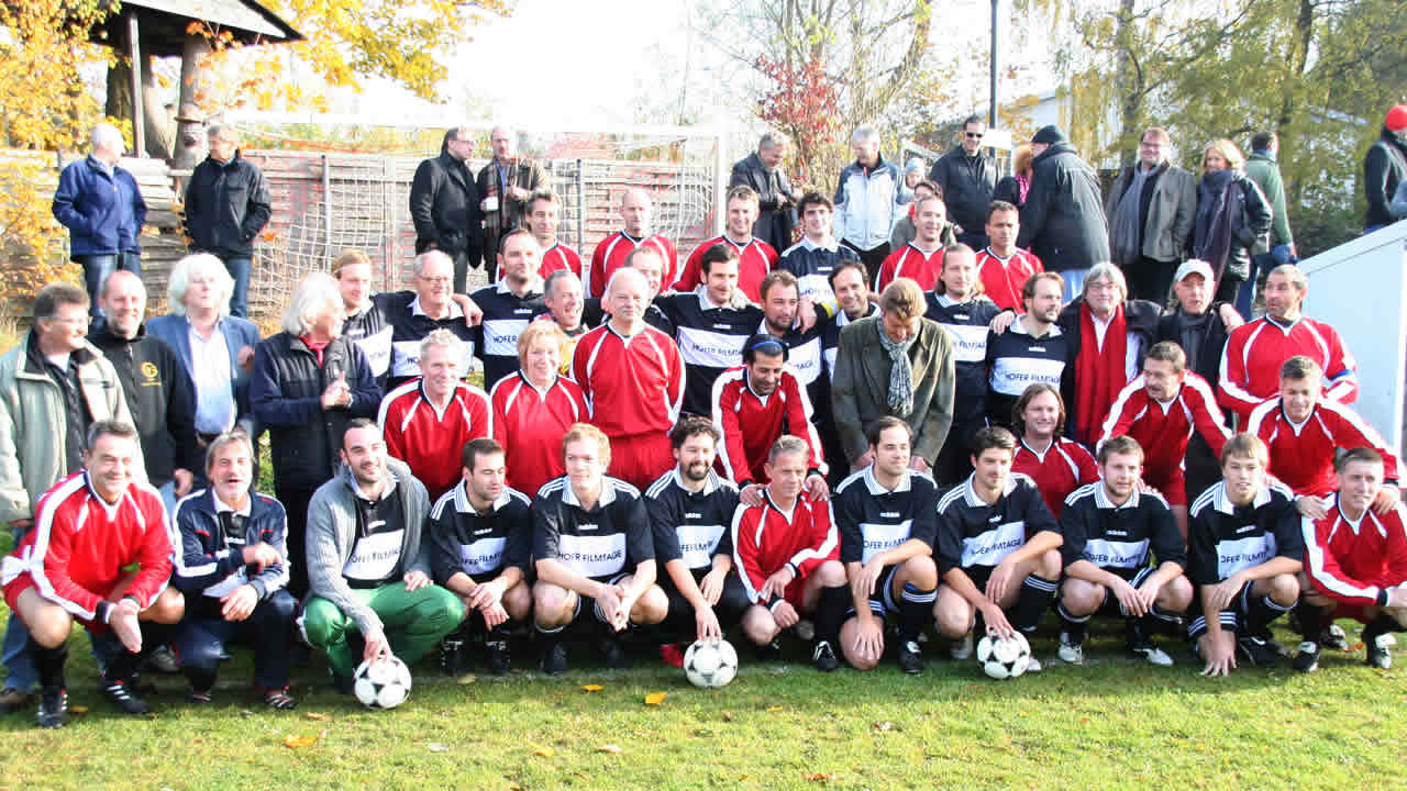 2011 – The traditional soccer match between FC Filmwelt and FC Hofer Filmtage