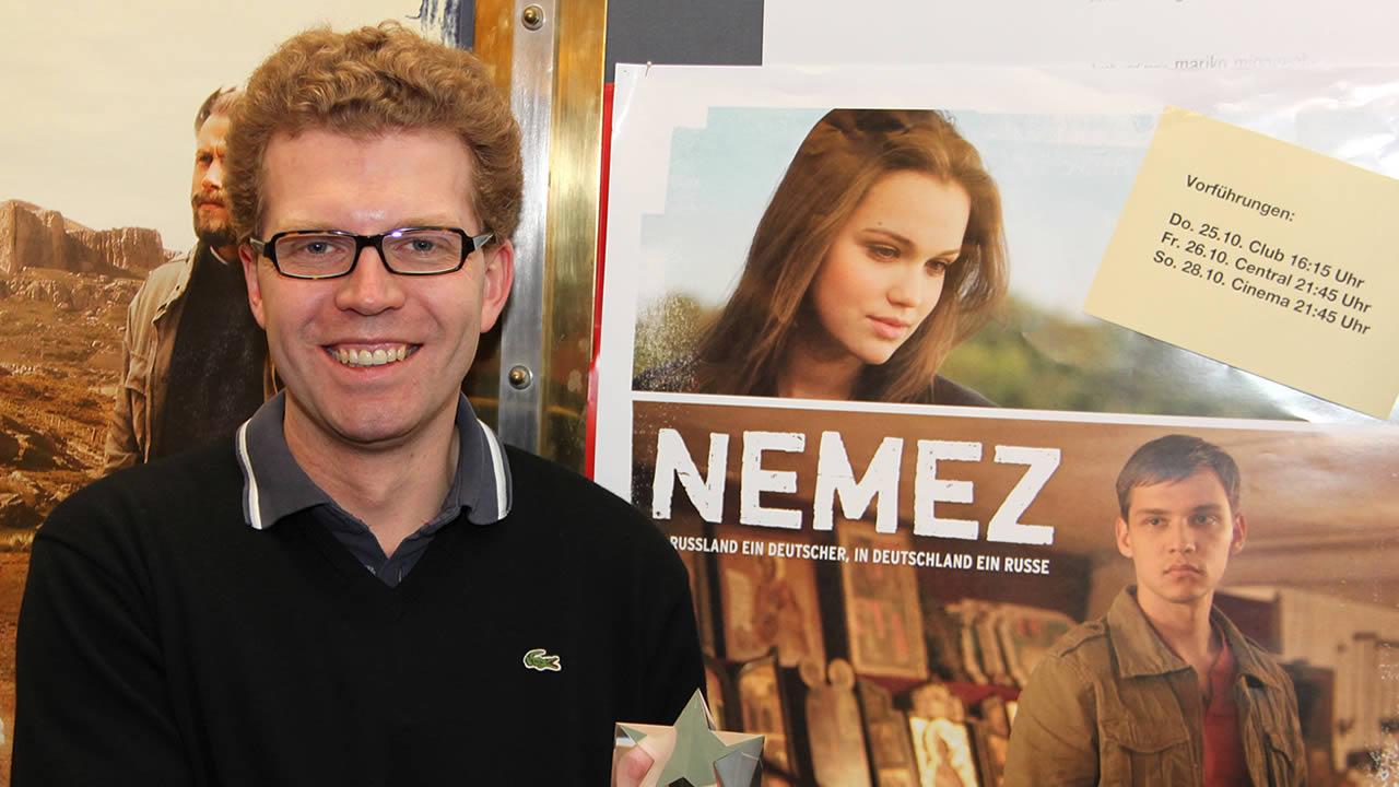 2012 - Der EASTMAN Förderpreis wird 2012 zum letzten Mal verliehen. Der Preisträger: Stanislav Güntner für NEMEZ
