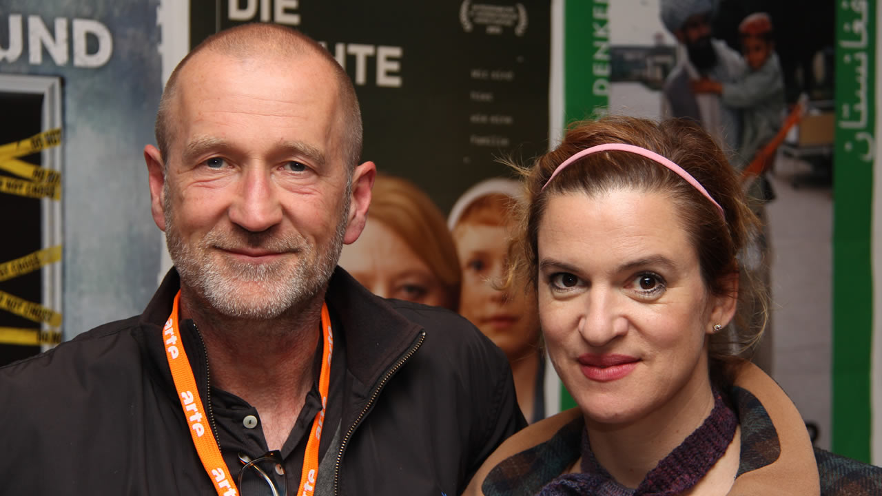 2013 - Inga Busch und Peter Lomeyer spielen die Hauptrollen in ART GIRLS von Robert Bramkamp.