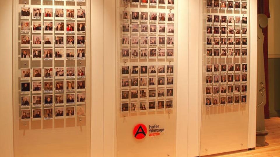PolaWand: Regisseure und Schauspieler auf Polaroid