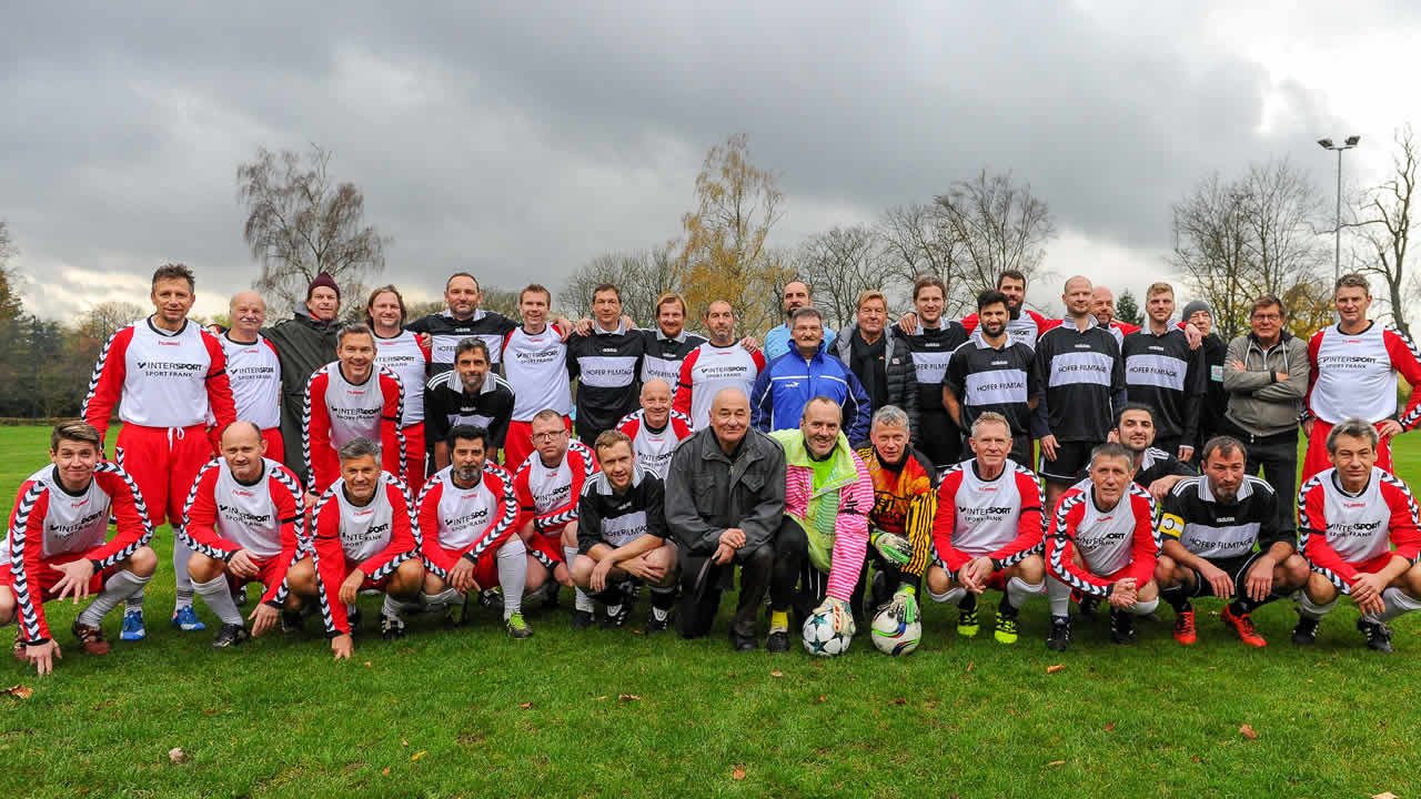 2017 - Traditional soccer match at the festival: FC Film World vs. FC Hofer Filmtage