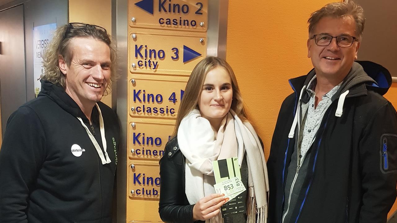 Glückliche Gewinnerin: Franziska Heindel