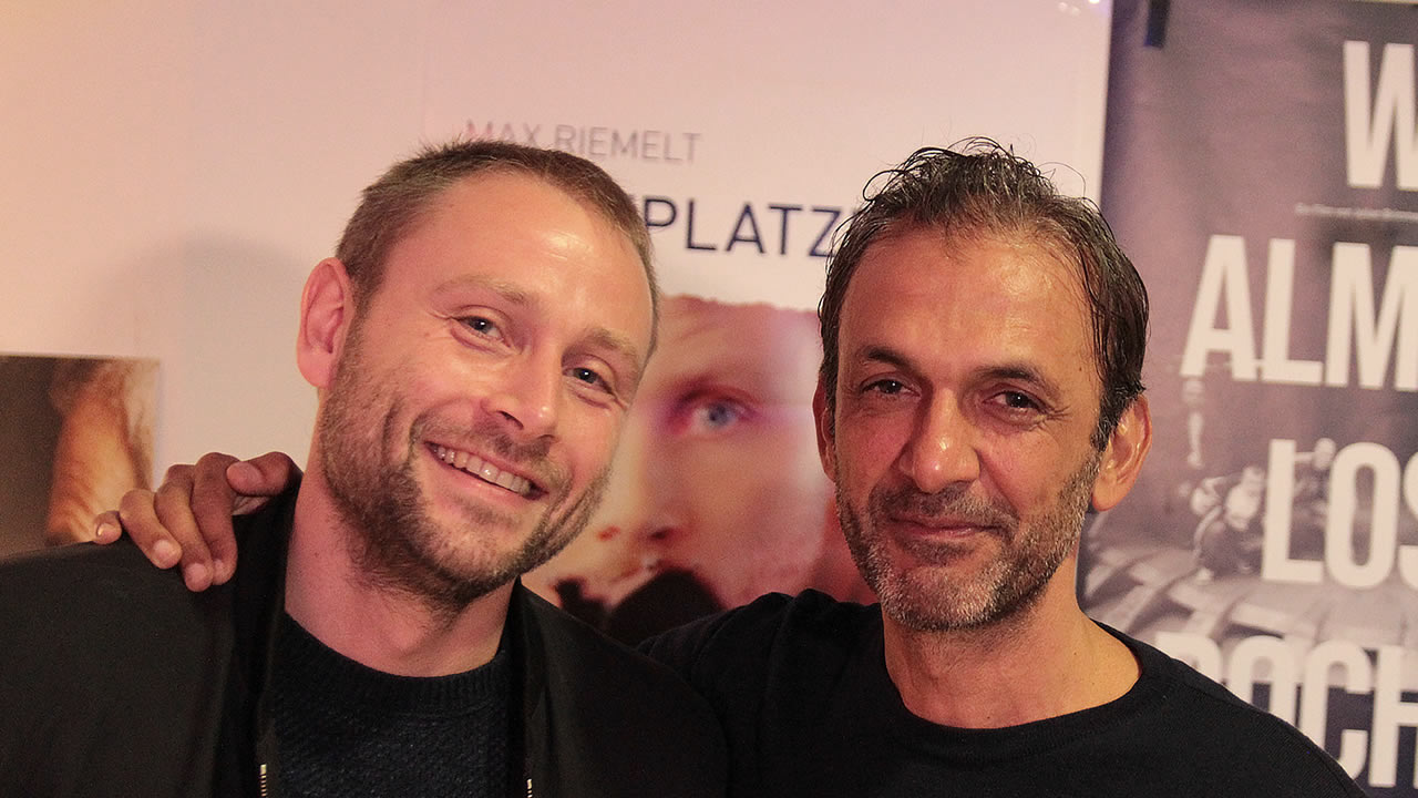 Director Savaş Ceviz presents his feature film KOPFPLATZEN with Max Riemelt.