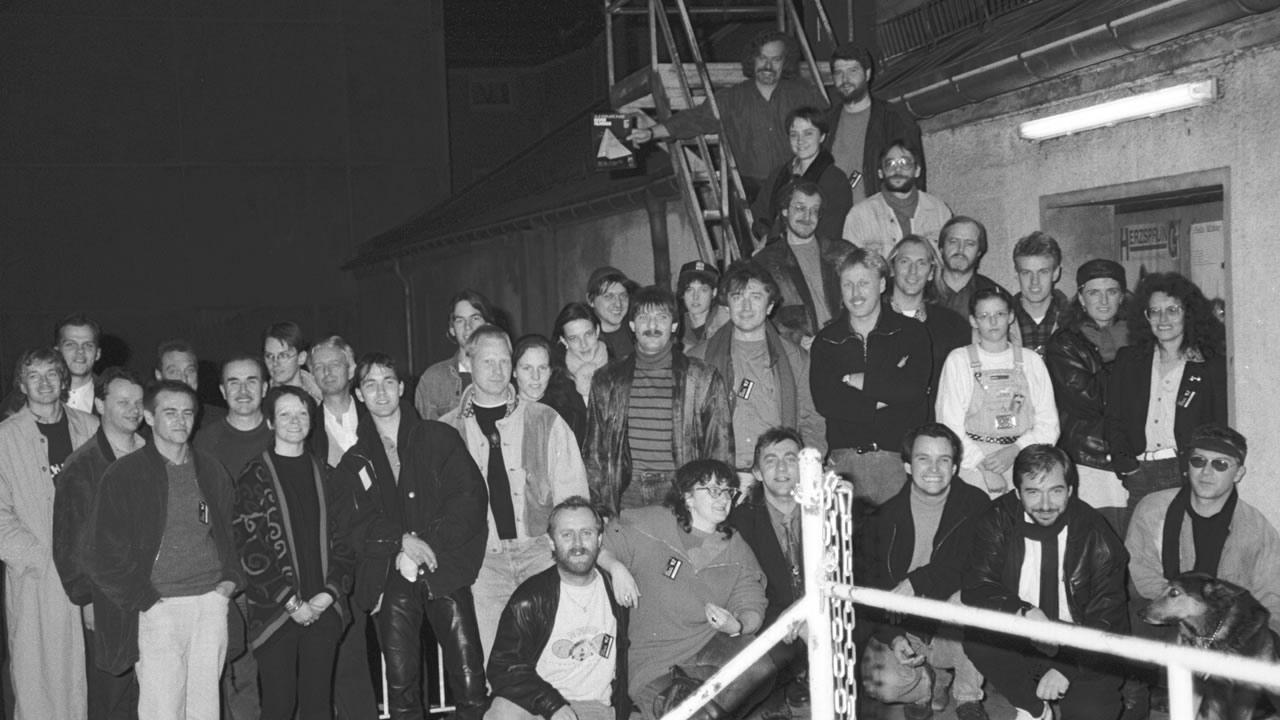 Das Filmtage-Team 1992