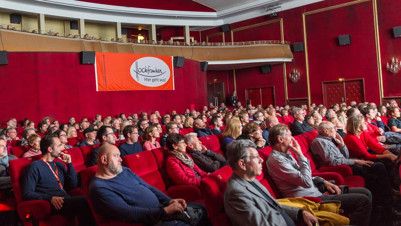 Unternehmerinitiative Hochfranken: Sponsor der Internationalen Hofer Filmtage